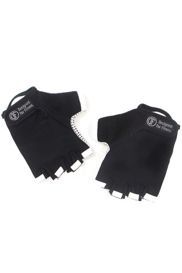 Женские перчатки для фитнеса Black N White - женская спортивная одежда Designed For Fitness
