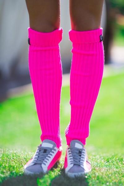 Женские спортивные гетры Fuchsia, фото №1 - Designed For Fitness