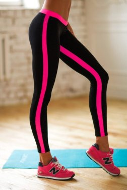 Леггинсы Basic Pink Low Rise, фото №1 - Designed For Fitness