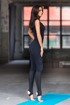 Комбинезон Yoga Total Black, фото №1 - Designed For Fitness