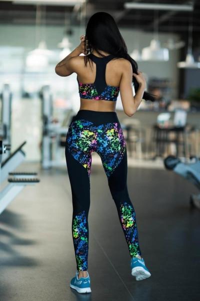 Комплект Toxic (топ+лосины), фото №1 - Designed For Fitness
