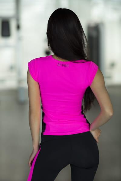 Футболка PRO Pink, фото №1 - Designed For Fitness