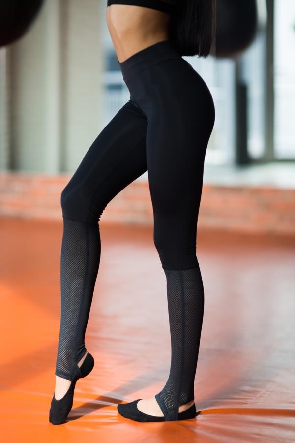 Леггинсы Yoga Total Black - Designed For Fitness