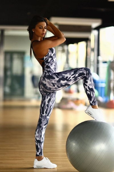 Комбинезон Como Grey, фото №1 - Designed For Fitness