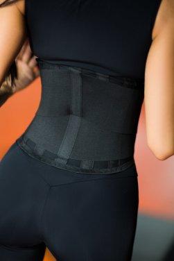 Корсетный фитнес-пояс Black - женская спортивная одежда Designed For Fitness