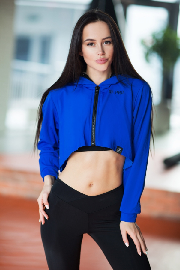 Худи Royal Blue, фото №1 - Designed For Fitness