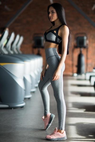 Комплект PRO Jersey Black (топ+лосины), фото №1 - Designed For Fitness