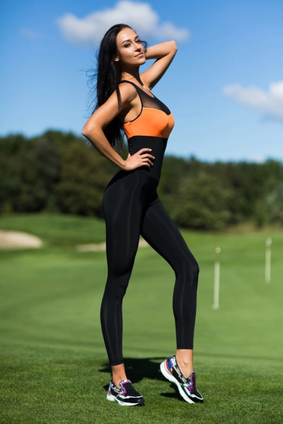 Комбинезон Perfect Orange, фото №1 - Designed For Fitness
