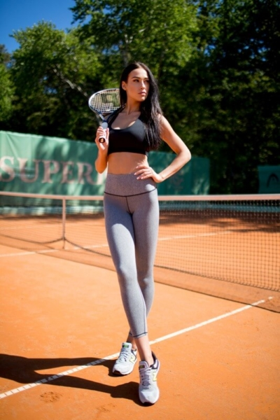 Леггинсы PRO Jersey High Weist, фото №1 - Designed For Fitness