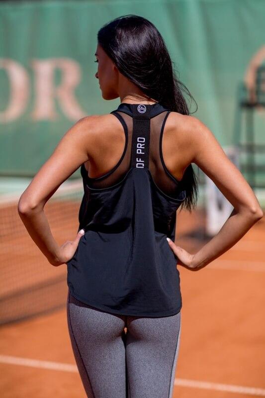 Майка Pro Black - Designed For Fitness