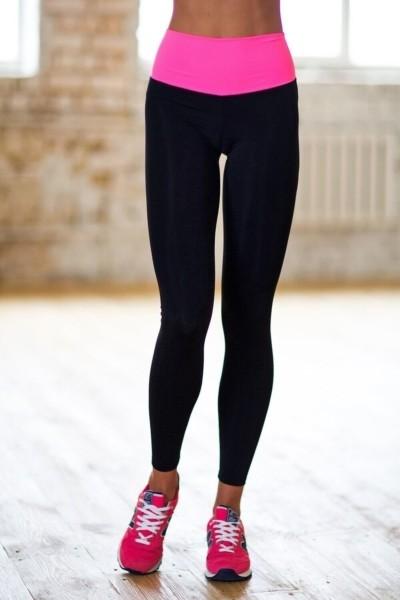 Леггинсы High Waist Pink, фото №1 - Designed For Fitness