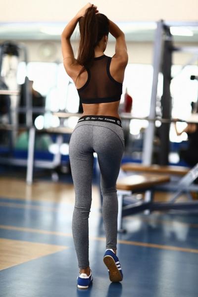 Комплект Black Net Pro Jersey (топ+лосины), фото №1 - Designed For Fitness