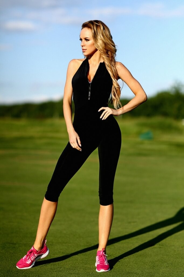 Комбинезон Zipper Capri Black, фото №1 - Designed For Fitness