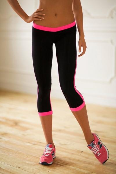 Бриджи Low Rise Pink, фото №1 - Designed For Fitness