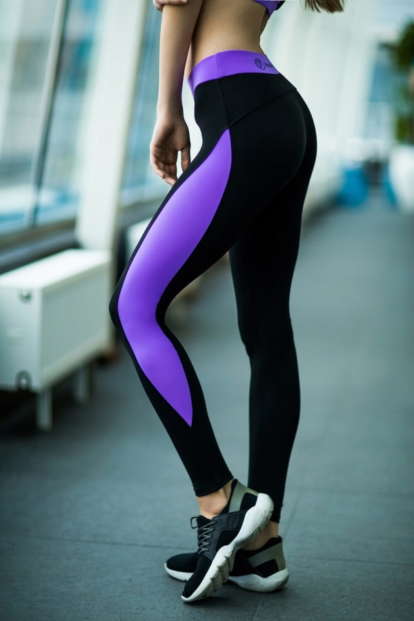 Леггинсы Basic Lavander - Designed For Fitness