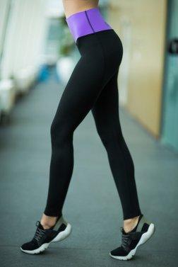 Леггинсы High Waist Lavender - Designed For Fitness