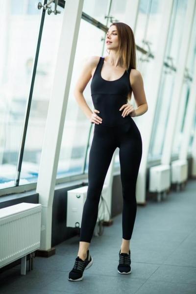 Комбинезон Black N Lavender, фото №1 - Designed For Fitness