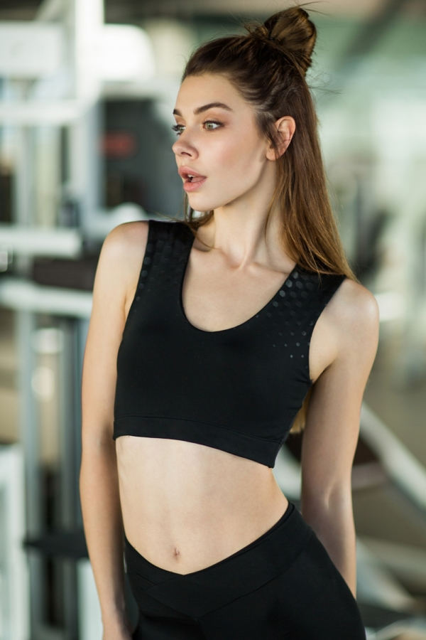 Топ Space Black, фото №1 - Designed For Fitness