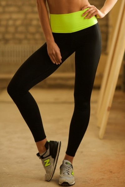 Леггинсы High Waist Lemon, фото №1 - Designed For Fitness