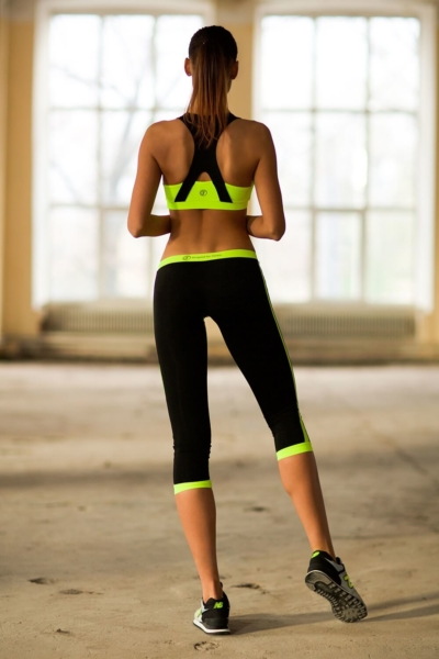 Комплект Basic Lemon Low Rise Capri (топ+бриджи), фото №1 - Designed For Fitness