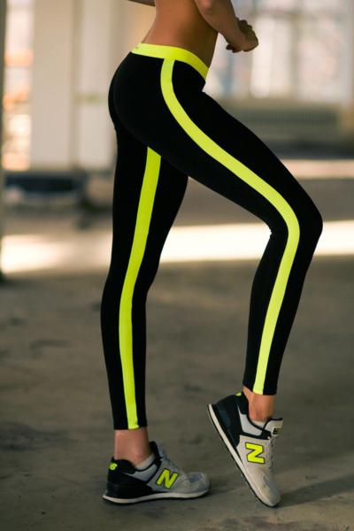Леггинсы Basic Lemon Low Rise, фото №1 - Designed For Fitness
