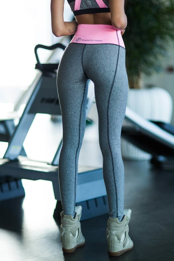 Леггинсы PRO Jersey Milkshake High Weist - Designed For Fitness