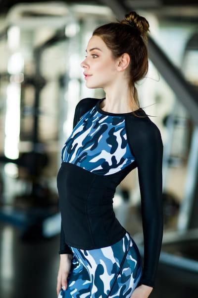 Рашгард Como Grey, фото №1 - Designed For Fitness