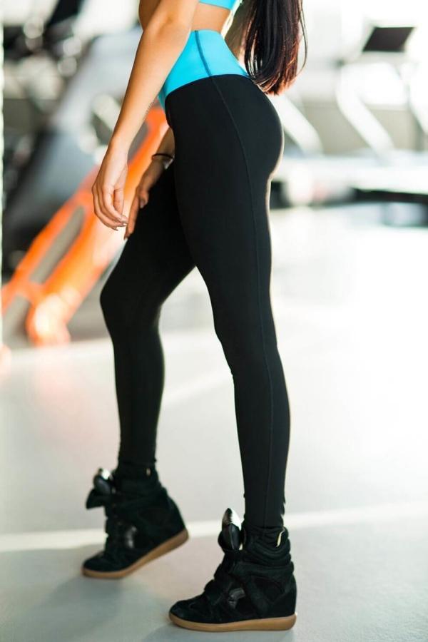 Леггинсы High Waist Crystal - Designed For Fitness