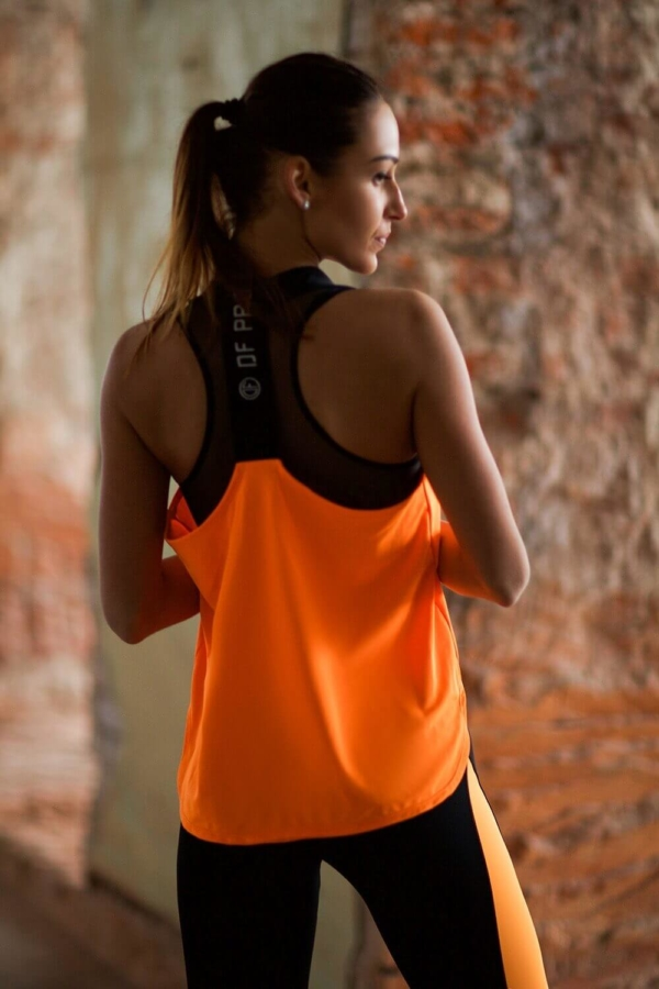 Майка Pro Orange - Designed For Fitness