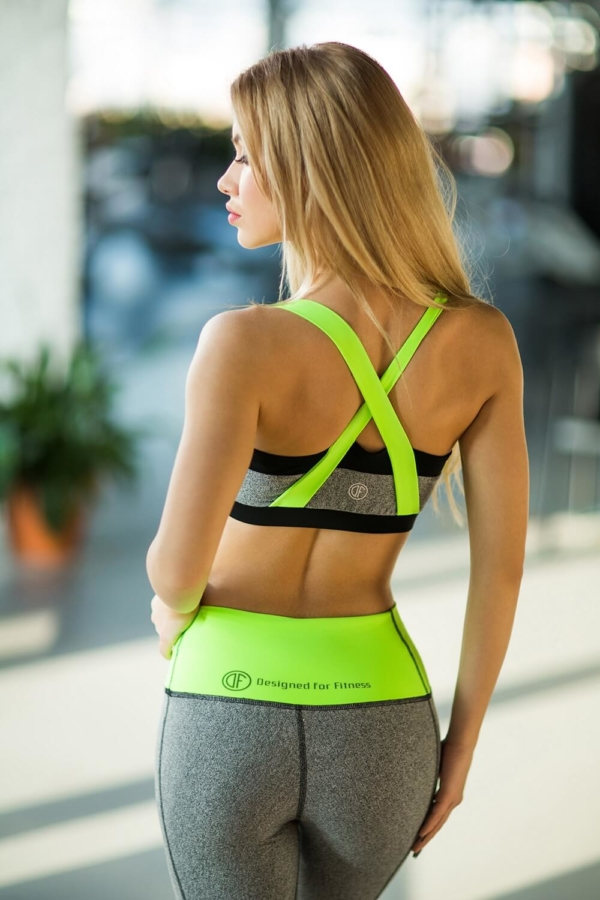 Топ PRO Jersey Green, фото №1 - Designed For Fitness