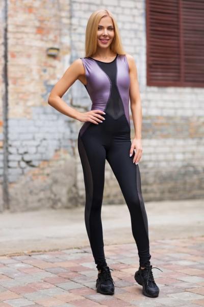 Комбинезон Disco Violet, фото №1 - Designed For Fitness