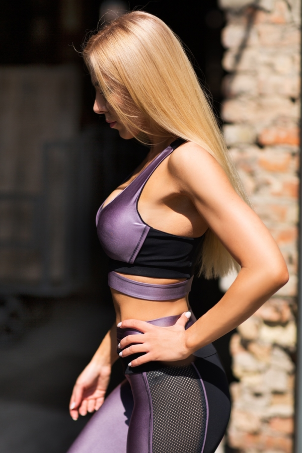 Топ Disco Violet - Designed For Fitness