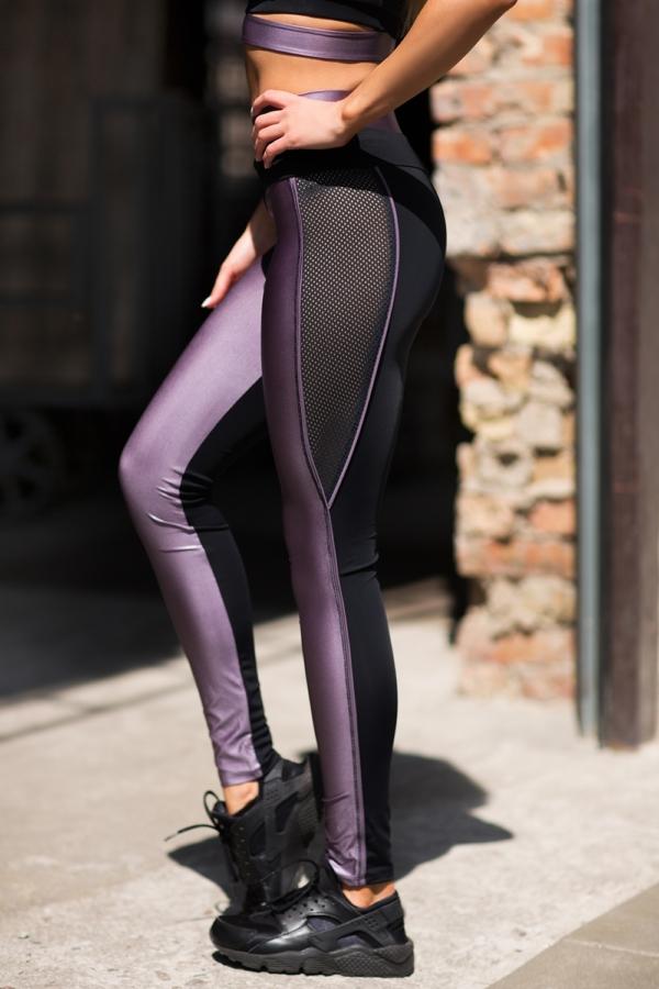 Леггинсы Disco Violet - Designed For Fitness