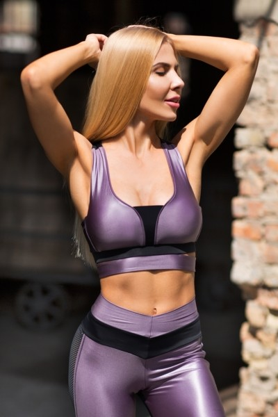 Топ Disco Violet, фото №1 - Designed For Fitness