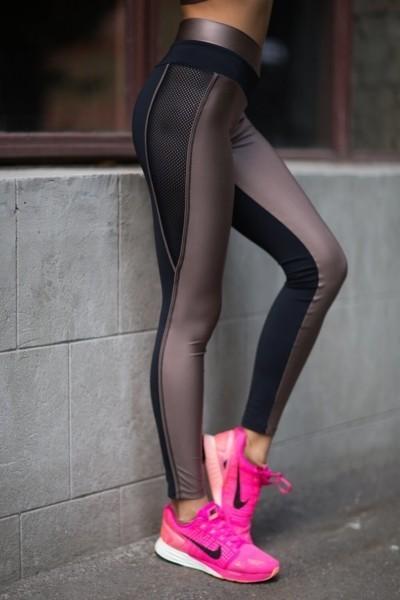 Леггинсы Disco Nude, фото №1 - Designed For Fitness