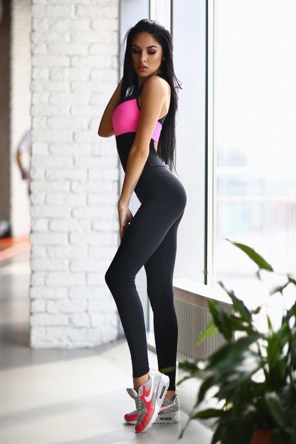 Комбинезон Perfect Pink - женская спортивная одежда Designed For Fitness