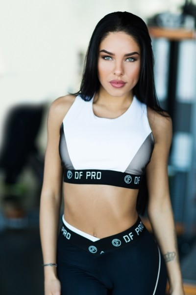 Топ Pro White Bra, фото №1 - Designed For Fitness