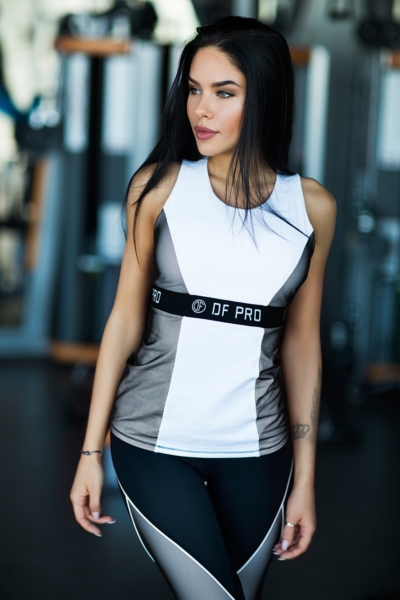 Топ PRO White, фото №1 - Designed For Fitness