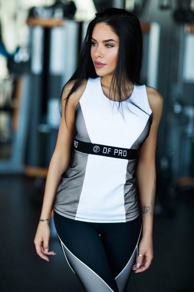 Топ PRO White, фото №1 - Designed For Fitness