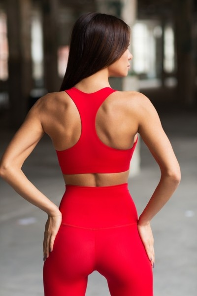 Топ Red Corset, фото №1 - Designed For Fitness