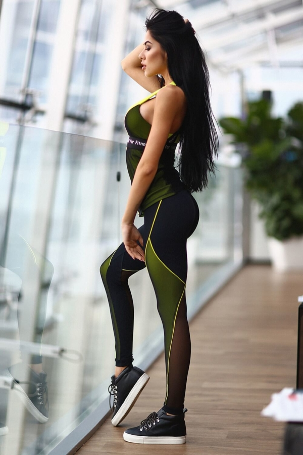 Комплект Pro Beat Long (топ+лосины), фото №1 - Designed For Fitness