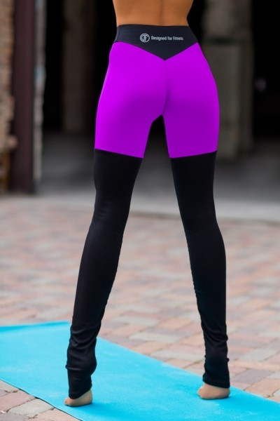 Леггинсы Yoga Tender Violet, фото №1 - Designed For Fitness