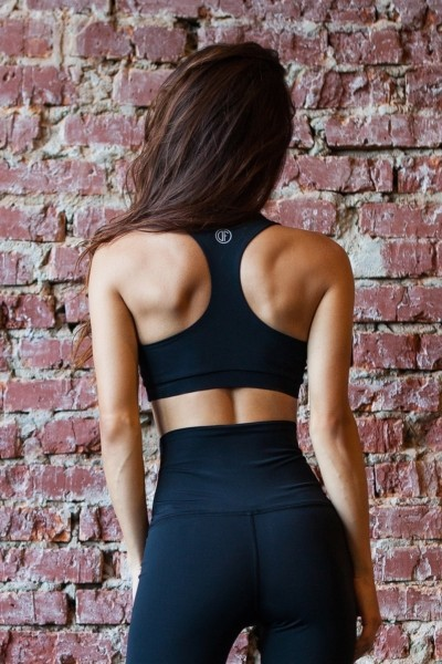 Топ Black Corset, фото №1 - Designed For Fitness