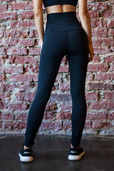 Леггинсы Black Corset, фото №1 - Designed For Fitness