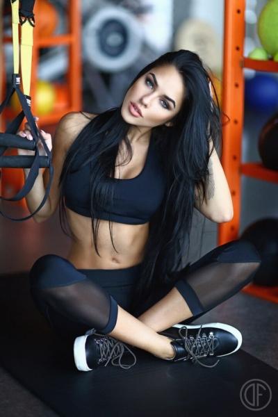 Бриджи Black Net, фото №1 - Designed For Fitness