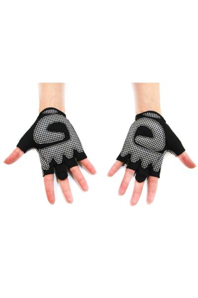 Женские перчатки для фитнеса Black N Lemon, фото №1 - Designed For Fitness
