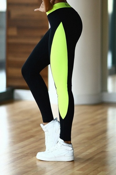 Леггинсы Basic Lemon, фото №1 - Designed For Fitness