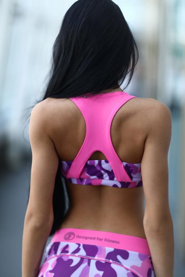 Топ Como Pink, фото №1 - Designed For Fitness