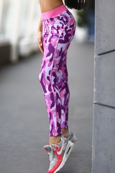 Лосины Como Pink, фото №1 - Designed For Fitness