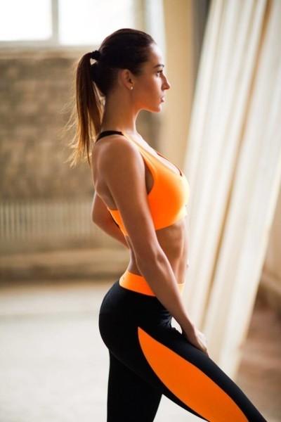 Топ Basic Orange, фото №1 - Designed For Fitness